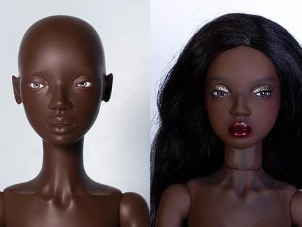 Dorothy and Fei Fei makeup