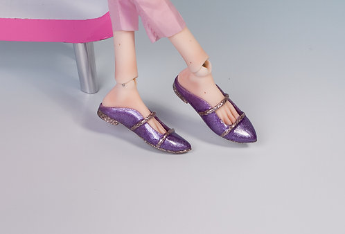 Purple mules - Ready to go