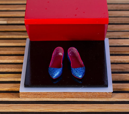 Плоская обувь - синие
