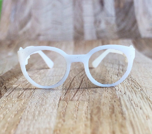 Очки  - школьники - прозрачные