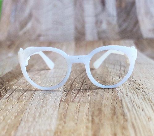 School shape glasses - trasparent