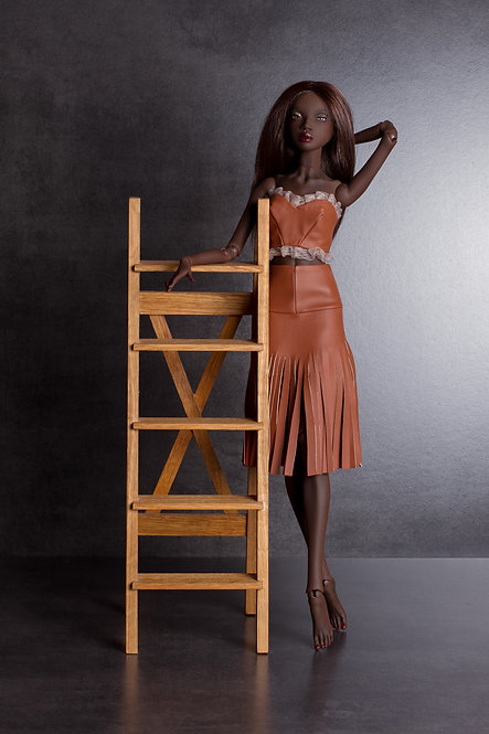 Skirt - eco leather
