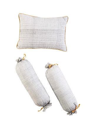 Malabar Baby Erawan Pillow & Bolster Set