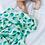 Thumbnail: Malabar Baby Organic Swaddle - Leaf