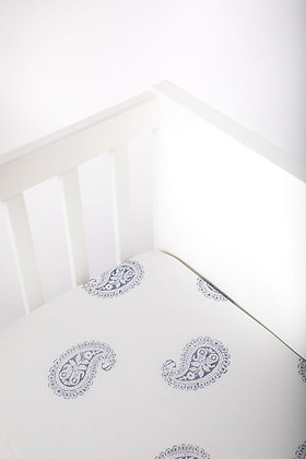 Malabar Baby Fort Fitted Crib Sheet - Handmade