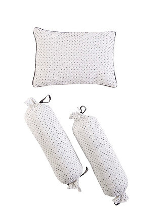 Malabar Baby Greenwich Pillow & Bolster Set