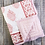 Thumbnail: Pink City Cotton Quilt - Natural