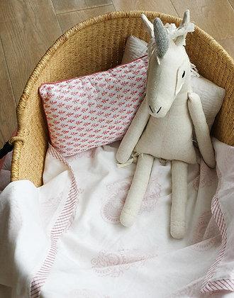 Malabar Baby Pink City Receiving - Handmade