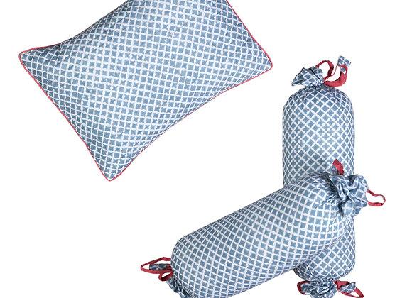 Seminyak Pillow & Bolster Set