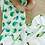 Thumbnail: Muslin Snug Blanket (4 Layer) - Parrot Reversible