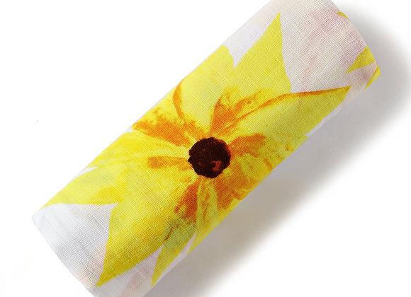 Organic Swaddle - Sunflower