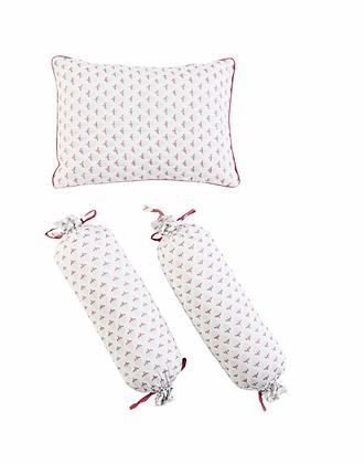 Malabar Baby Miami Pillow & Bolster Set