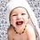 Thumbnail: Malabar Baby Bamboo Cotton Pom Pom Hooded Towel - Grey