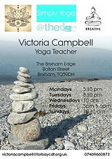 Victoria Campbell Brixham Yoga Teacher