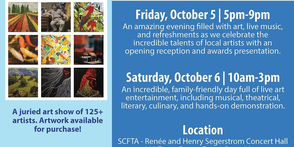 4th annual Costa Mesa ARTventure reception and awards ceremony