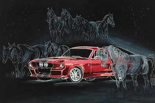 Ghost from the Past-Classic Mustang
