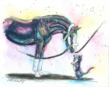 Goodluck Kiss (from horse racing collection)
