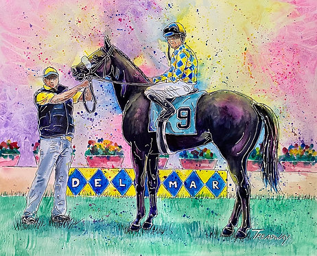 Back to the Del Mar Winner's Circle
