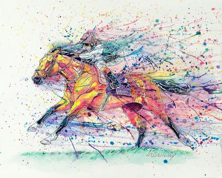 Frankel the Wonder Horse