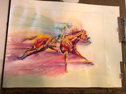 Paint Running Layer