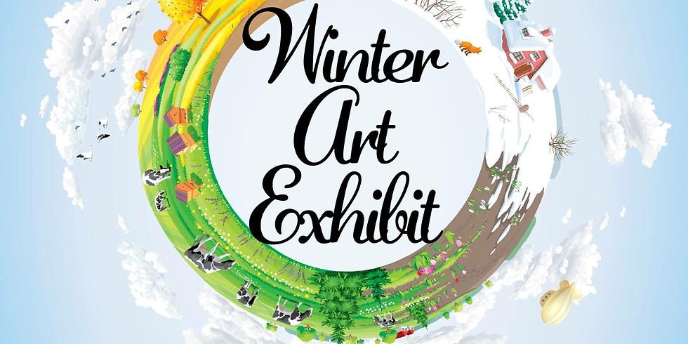 Winter Art Exhibit in Cedartown, GA