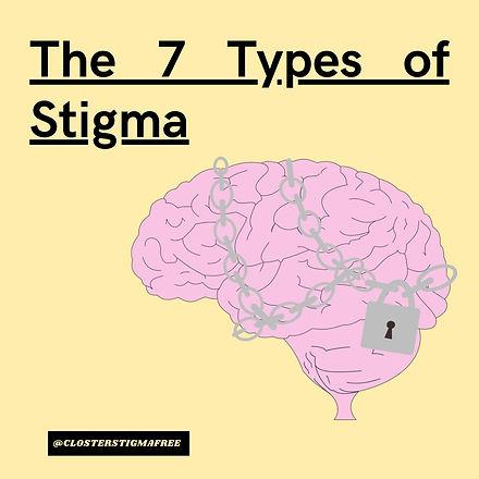 the seven types of stigma