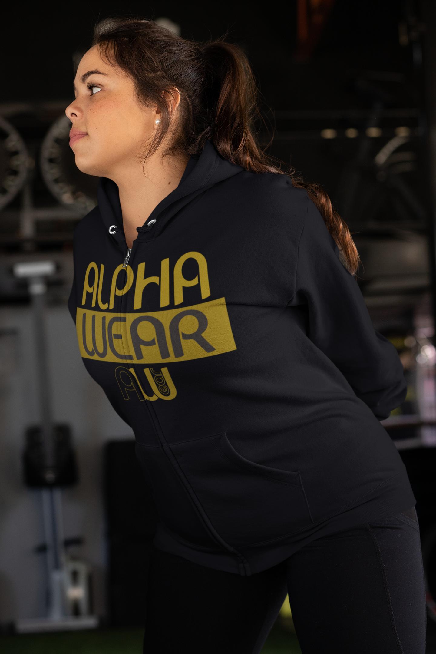 plus-size-full-zip-hoodie-mockup-of-a-wo