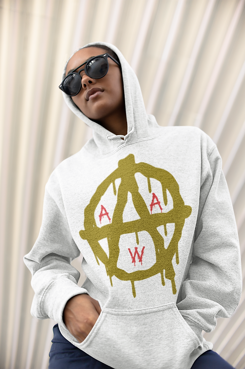 AW Anarchy Wheel Hoodie