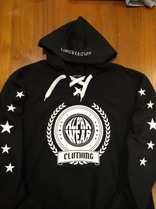 AW Stars and Emblem Hoodie