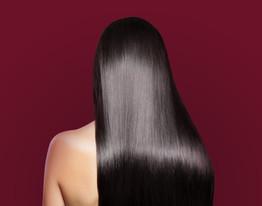 Silky Långt hår
