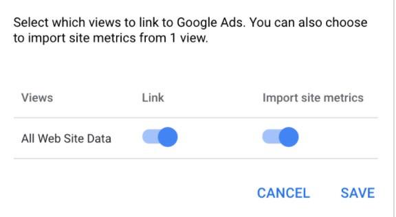Google Ads - Linked