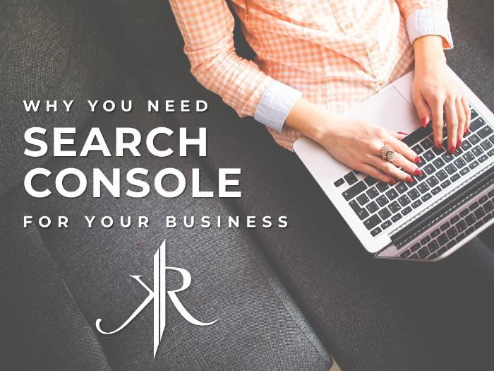 Google - Search Console - KaeRae Marketing