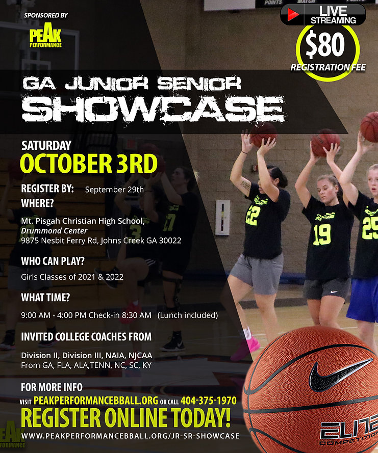 JR SR SHOWCASE