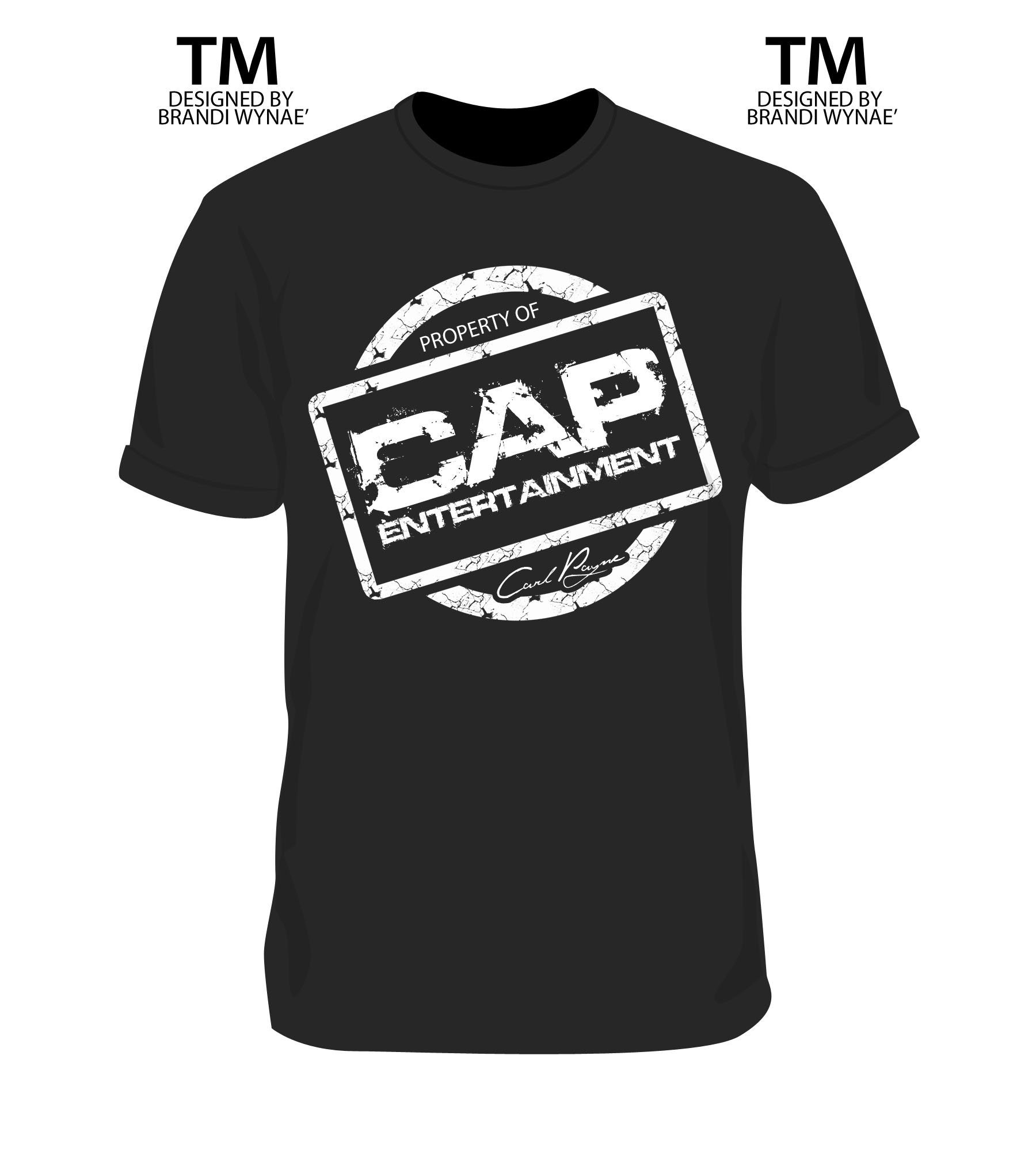 CAP Entertainment t-shirt