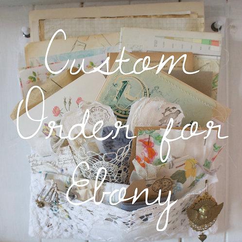 PFOS Custom Order for Ebony
