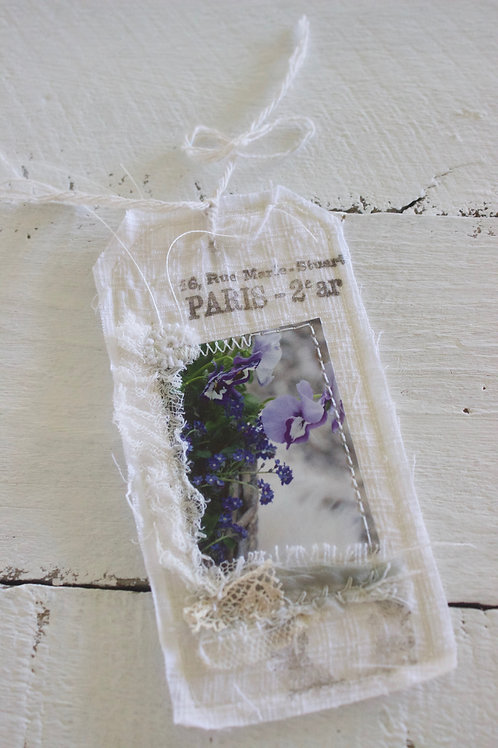Purple Pot Gift Tag