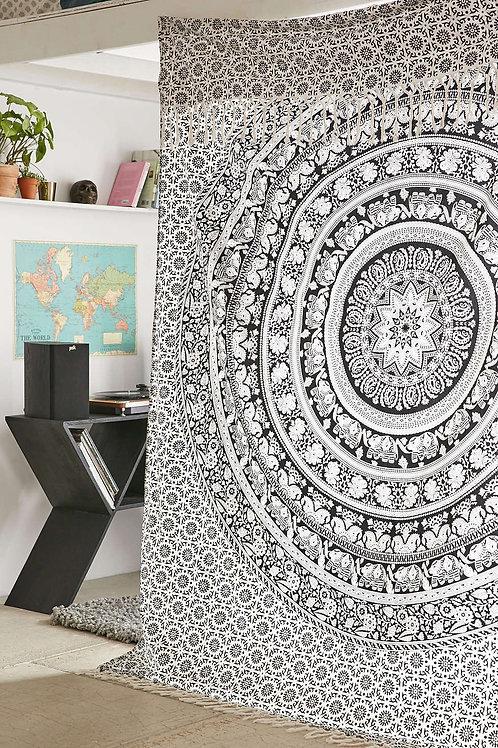 Black 'n' White Mandala