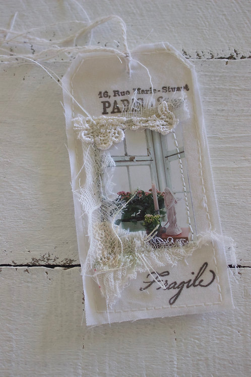 Paris Window Gift Tag
