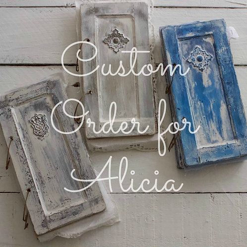 Custom Order For Alicia