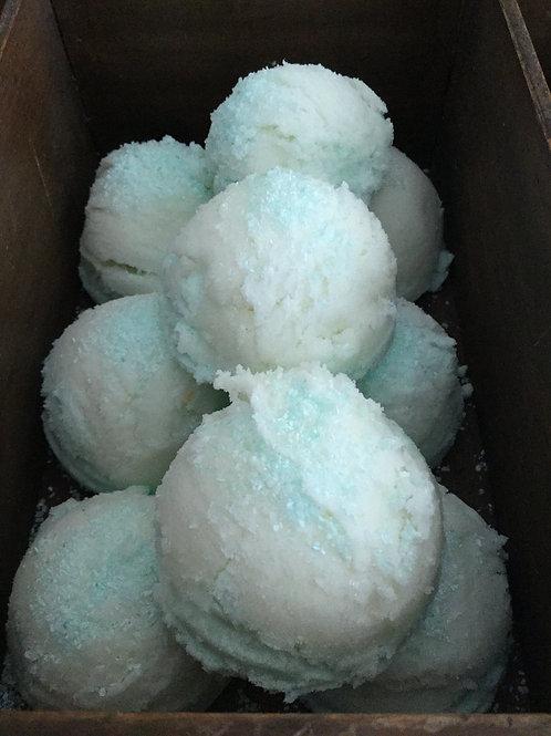 """Arctic Blue"" Ice Cream Bath Melt"