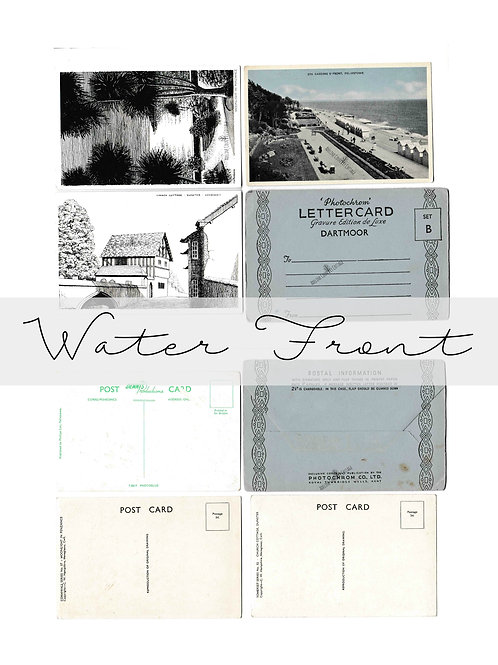Vintage Water Front Postcards