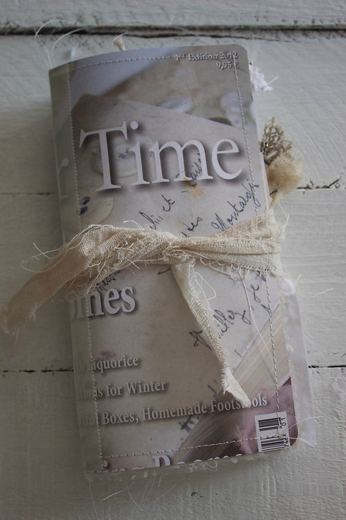 "Jeanne D`Arc Mood Travelers Journal ""Latte Time"""