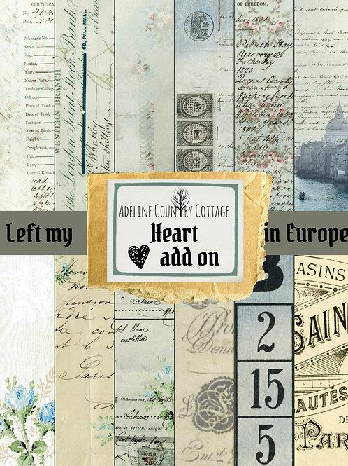 Left My Heart In Europe Add On