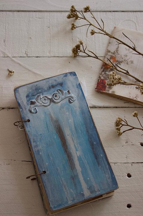 Vintage Farm House Blue Door 4