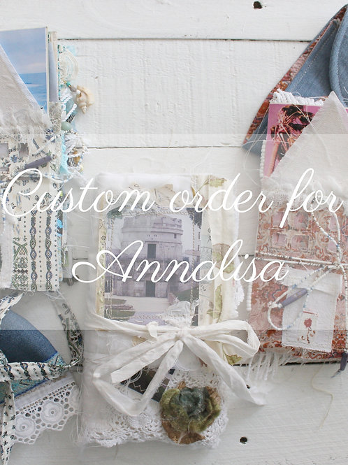 Custom or fro Annalisa