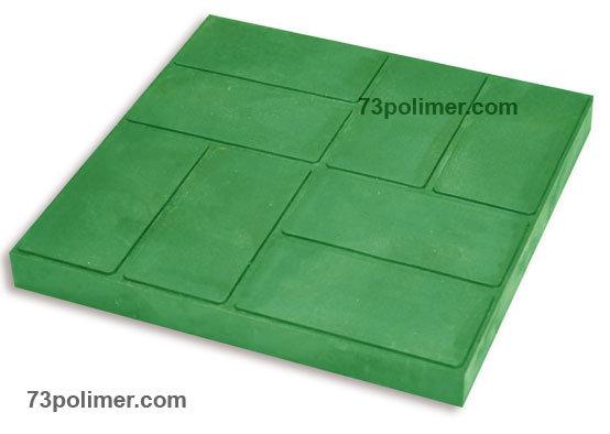 Полимерпесчаная плитка 333  (8 кирпичей)