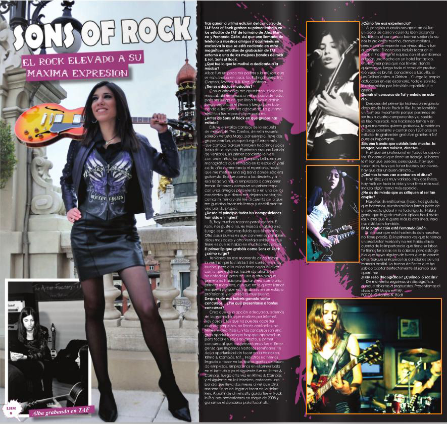 Interview in LH Magazin