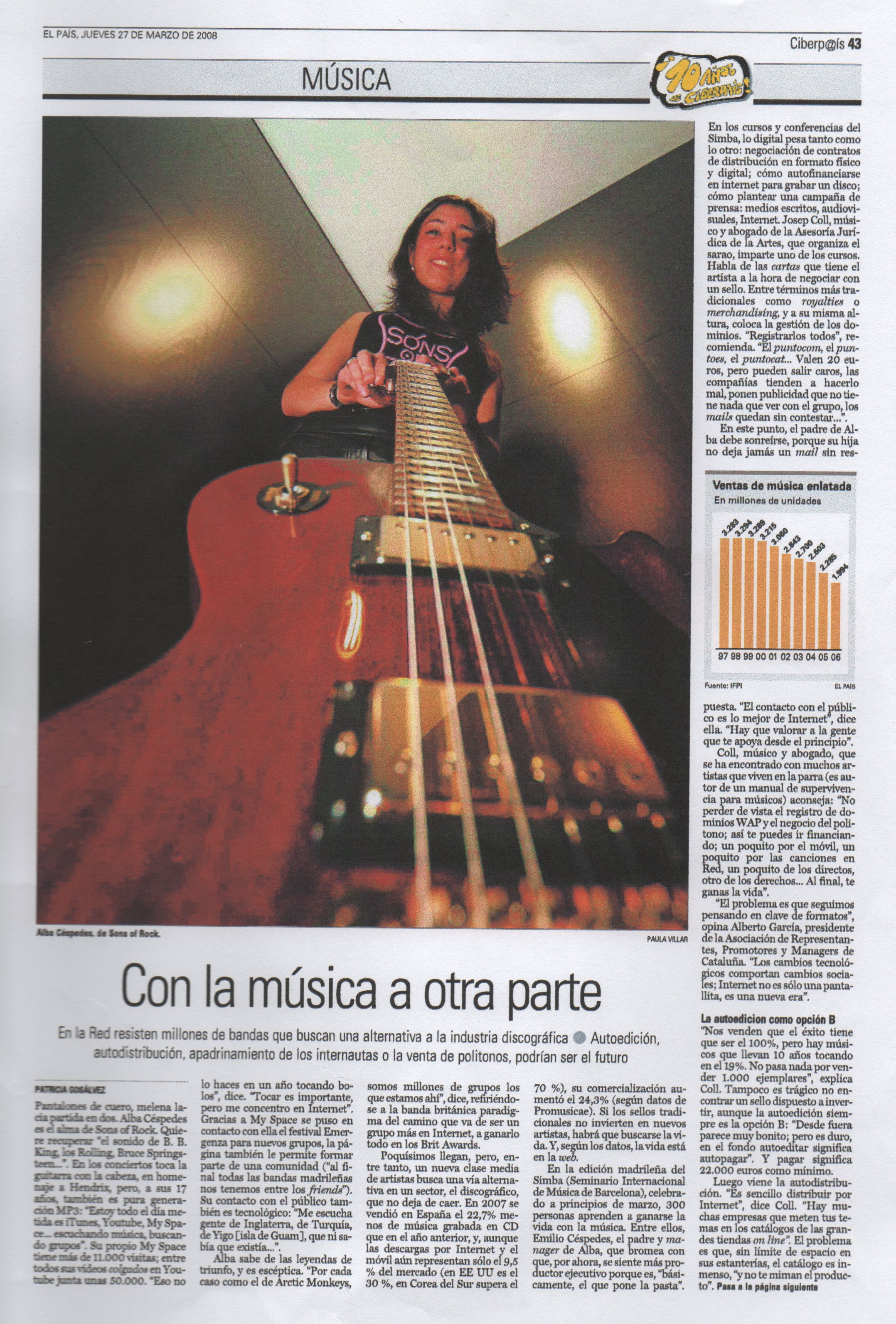 Feature in El País