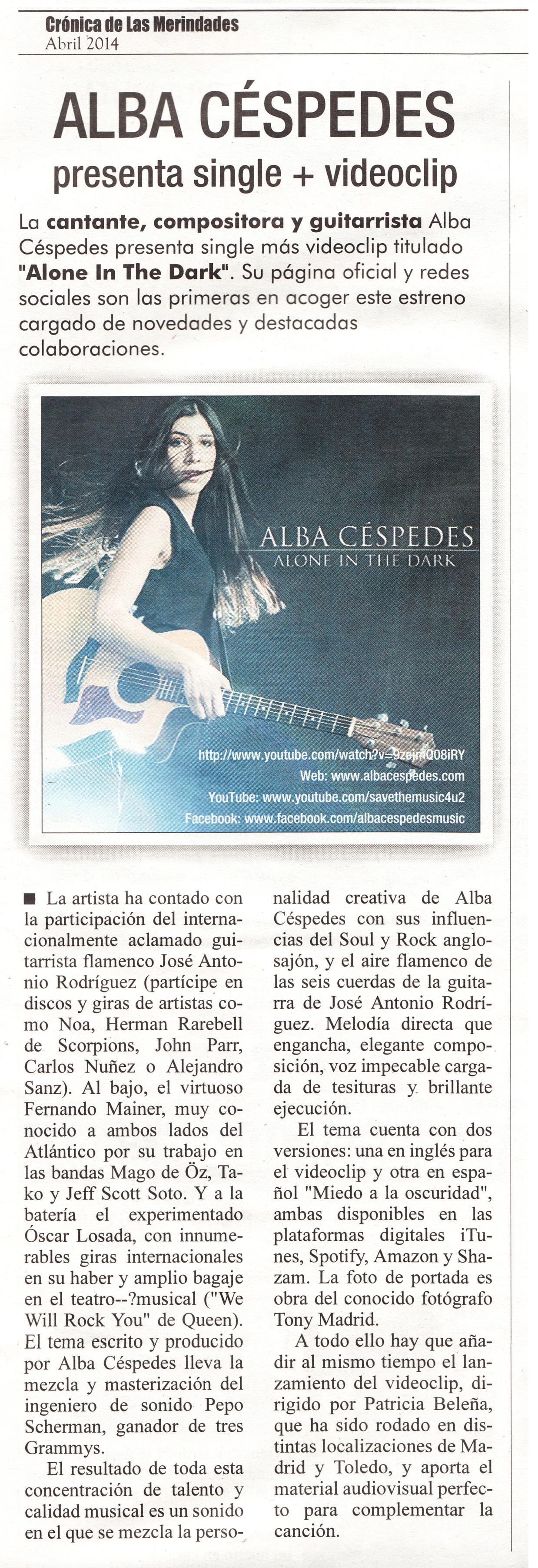 Review by Crónica de las Merindades