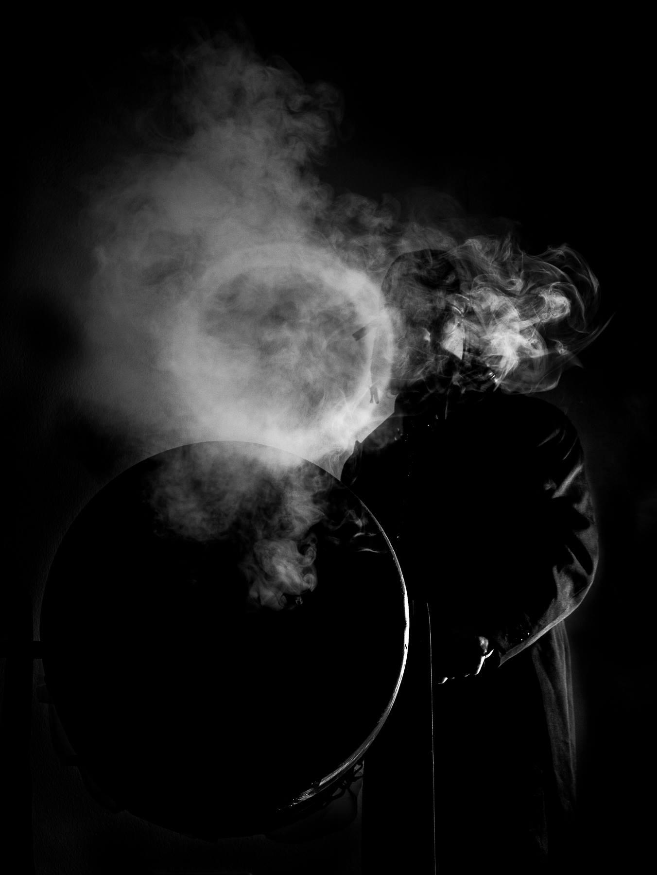 rond de fumée géant